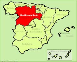 Valencia Spain Map by