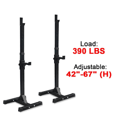 amazon com zeny set of 2 adjustable standard solid steel squat