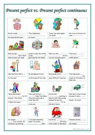 103 free esl present perfect continuous worksheets