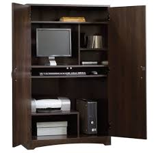 Large Computer Armoire Gorgeous Modern Office Computer Armoire Also With Cool Office