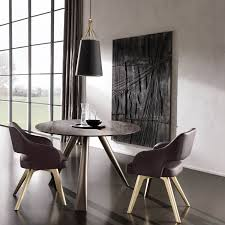 sedie sala da pranzo moderne sedia imbottita con gambe a razze adria di cantori arredaclick