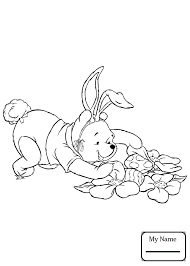 winnie the pooh easter basket eeyore with easter basket winnie the pooh coloring pages