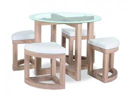 the quarry dining set is a compact dining table and stool chair