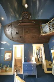 145 best kids rooms images on pinterest kids rooms kidsroom and pirate ship in the nursery sometimes you have to just go all in on kids bedroom designskids