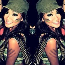 Cheetah Girls Halloween Costume Halloween 2014 Army Soldier Camo Halloween