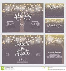 modern wedding invitations modern wedding invitation card stock vector illustration of