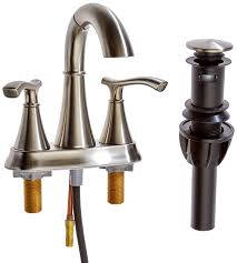 Pfister Ideal Two Handle 4 Centerset Bathroom Faucet With Pull Out 4 Fixture Bathroom