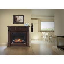 Electric Fireplace With Mantel Napoleon Bailey 24 In Corner Mantel Package Electric Fireplace In