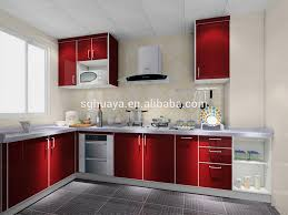 2014 newest aluminium kitchen cabinet model high gloss kitchen