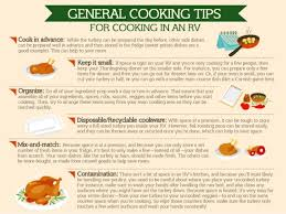 cooking thanksgiving dinner in your rv