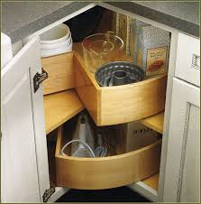 Blind Kitchen Cabinet by Blind Corner Cabinet Pull Out Storage Home Design Ideas