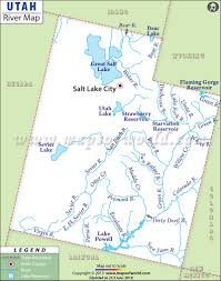 Map Of Nevada And Utah by Utah Rivers Map Rivers In Utah