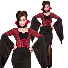 ladies alluring vampiress vampire queen halloween fancy