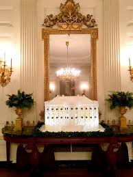donald trump white house decor inside white house christmas reception all is merry and bright