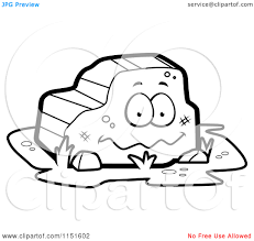 rock clipart coloring page pencil and in color rock clipart
