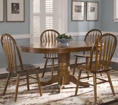 Liberty Furniture Dining Table by Oval Pedestal Dinner Table W 4 Windsor Side Chairs By Liberty