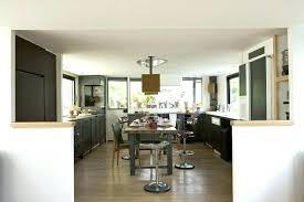 separation cuisine salle a manger meuble de separation meuble de sacparation cuisine salon free