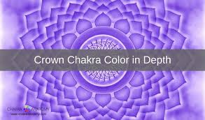 purple color meaning crown chakra color meanings
