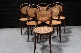 chaises thonet 6 thonet bistrot chairs sold european antique warehouse