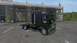 kenworth 2017 cat kenworth k100 and trailer v1 0 fs 2017 farming simulator