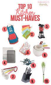 10 Must Haves For Every by The Sorority Secrets Must Haves