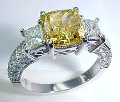color diamonds rings images Fancy color diamond yellow colored diamonds jpg