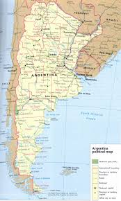 physical map of argentina argentina map and argentina satellite image