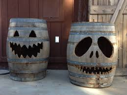 happy halloween with barro lanterns aka jack o barrels at big