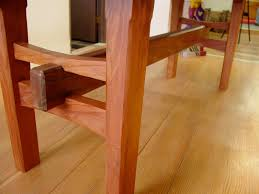 redwood table with japanese joinery products i love pinterest