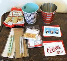 easy teacher gift idea in the garage