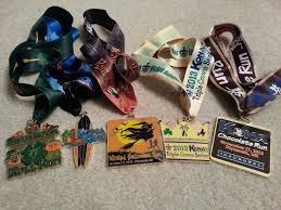 halloween medals race medal pictures a running librarian