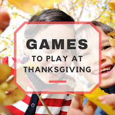 thanksgiving family to play