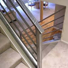 Steel Banister Rails Elegant Iron Studios Custom Ornamental Metalwork Modern