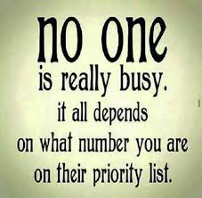 All Memes List - no one is really busy it all depends on what number you are on their