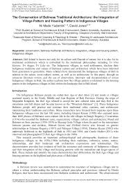 net paper pattern 2015 the conservation of balinese traditional architecture the
