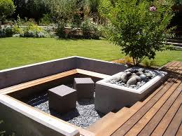Contemporary Firepit Pits Designs Landscapes Heavenly Cube Ottomans Add A Touch Of