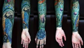 parrot blue sleeve best ideas gallery