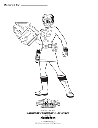 power rangers megaforce coloring pages free print 50531