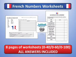 french numbers worksheets by fullshelf teaching resources tes