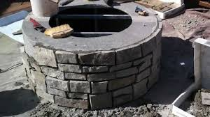 Fire Pit Kits by Building A Gas Fire Pit Fire Pit Installation Part 1 Youtube