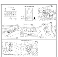 nissan x trail wiring diagrams