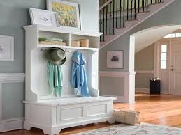 entryway bookcase mudroom shelves with hooks bench with rack foyer bench with coat