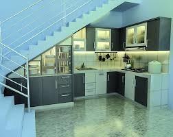 Kitchen Stairs Design Kitchen Down Stairs