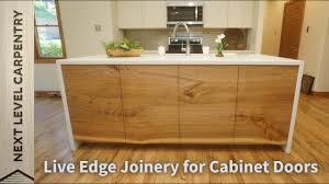 what are slab kitchen doors live edge joinery for cabinet doors