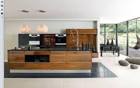 modern kitchen features exquisite contemporary style kitchen features brown wooden kitchen