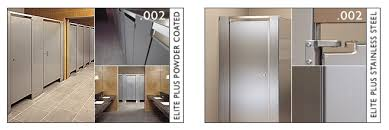 Stainless Steel Bathroom Partitions by Hadrian Partitions Partitions Plus Inc