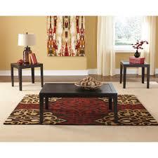 coaster furniture 3 piece coffee table set hayneedle