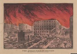 Chicago Fire Map by Great Chicago Fire 1871 The Second City Goes Up In Flames 141