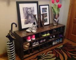 Bench Shoe Storage Shoe Storage Bench Etsy