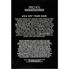 Family Garden Carteret Nj Profx Kickoff Your Mani Starter Nail Treatment Pro Kit Walmart Com
